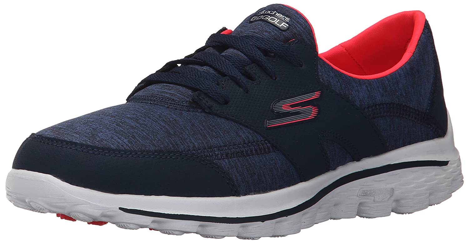 Skechers Performance Women's Go Walk 2 - Backswing Walking Shoe B013KOOF0S 9.5 B(M) US|Navy/Pink