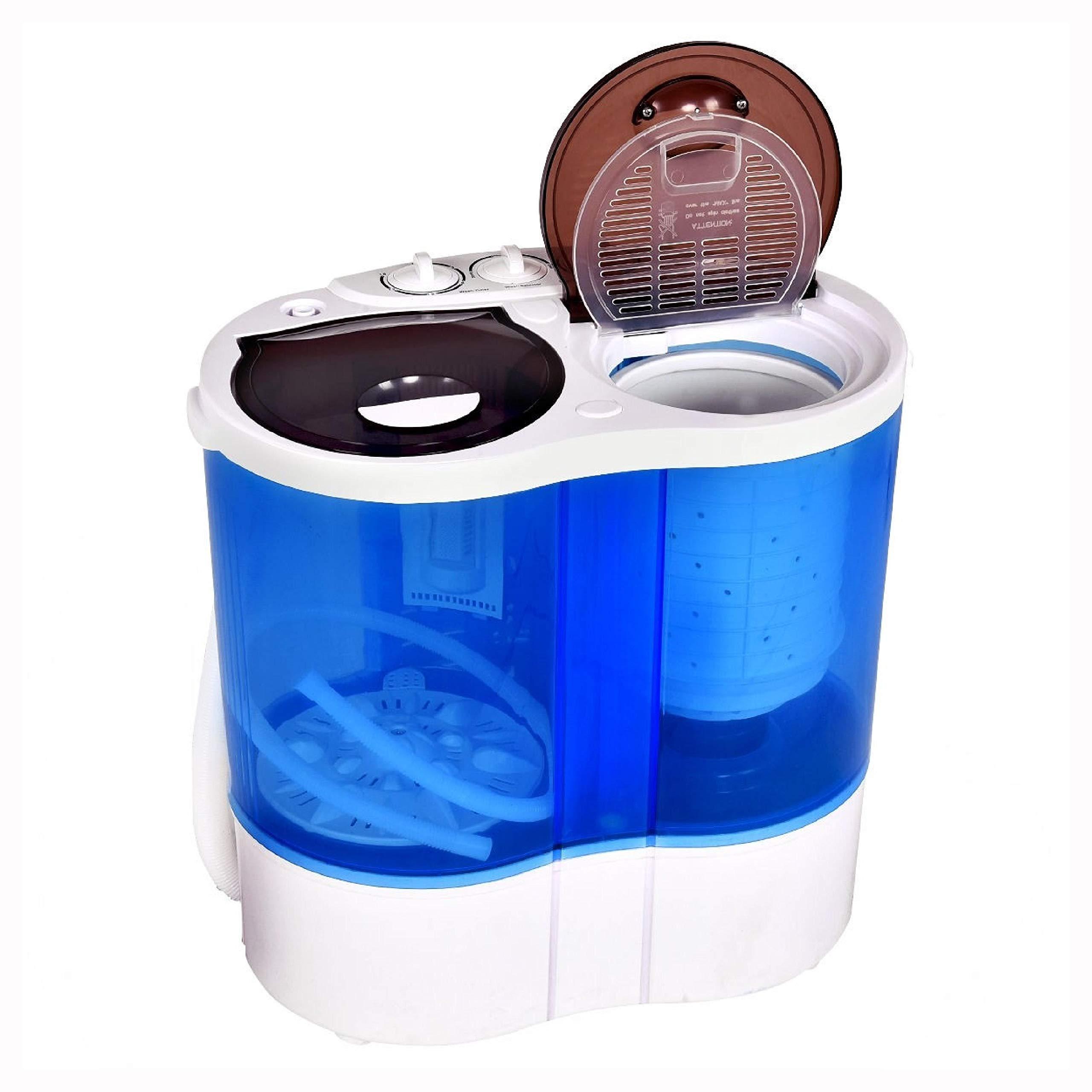 Washing Machine, 15 lbs Portable Compact Twin Tub Mini Washing Machine by HomyDelight (Image #9)