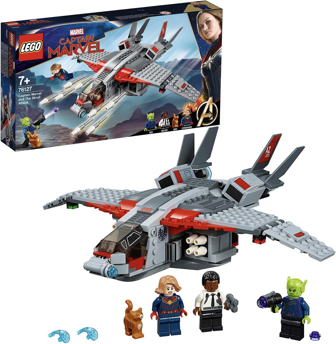 LEGO Marvel Super Heroes - Capitana Marvel Ataque de los Skrulls ...