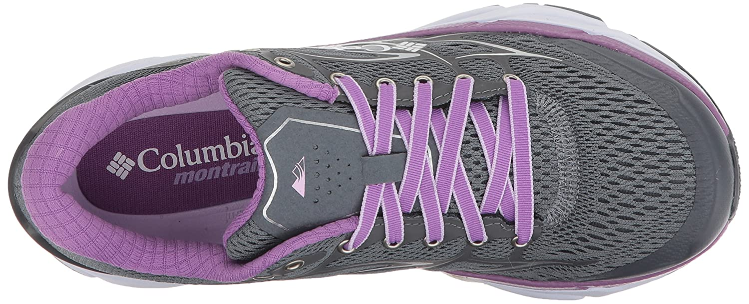 Columbia Montrail Women's Variant X.S.R. Trail Running Shoe B072WKHCTD 10 B(M) US|Grey Ash, Phantom Purple