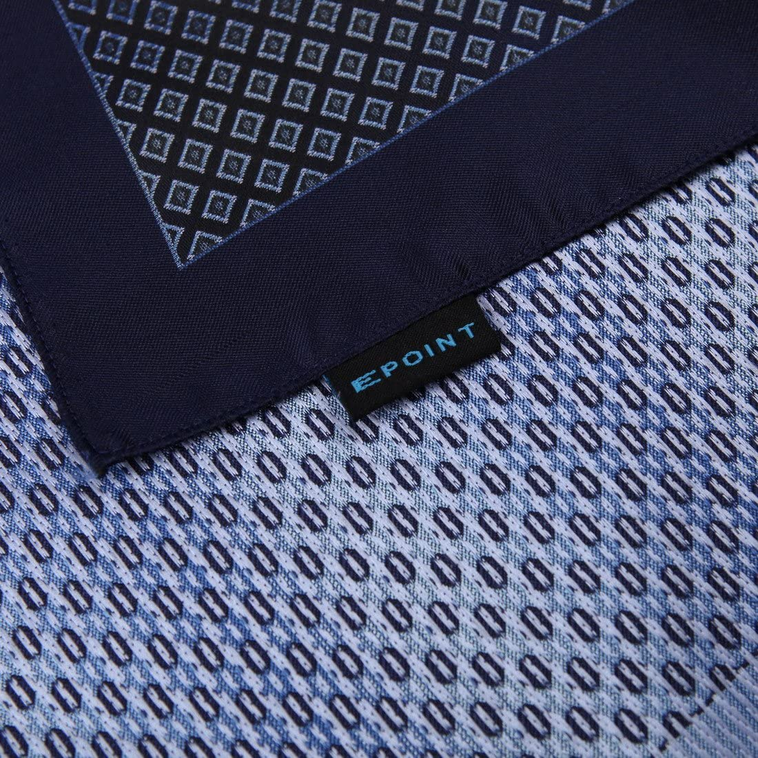 Epoint Mens Fashion Groom Patterned Microfiber Handkerchief Inspire For Mens Hanky
