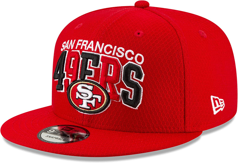 New Era San Francisco 49ers 9fifty Snapback Cap NFL 2019 Sideline Home 1990