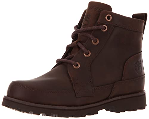 b9155349f Timberland Ek 6 In Boot With Side Zip - Botas de cuero para niño marrón  Marron (Dark Brown) 39  Amazon.es  Zapatos y complementos