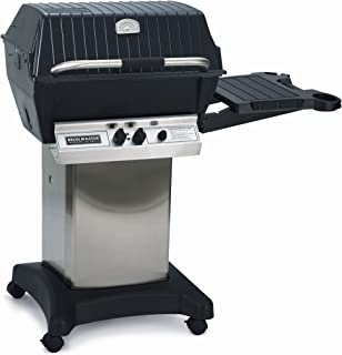 product image for Premium Gas Grill Package 5 with Stainless Cart/Base and Side Shelf