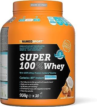 PROTEINA NAMEDSPORT SUPER 100% WHEY COCO 908GR