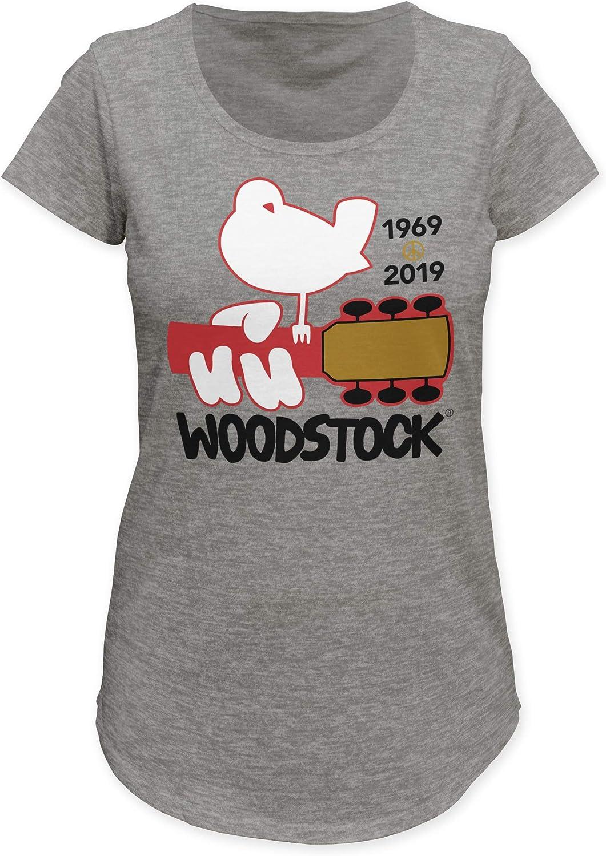 Impact Merchandising Woodstock 1969-2019 Womens Mali tee