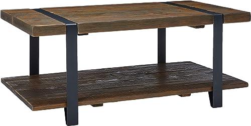 Alaterre Furniture Modesto 42″ Reclaimed Wood Coffee Table