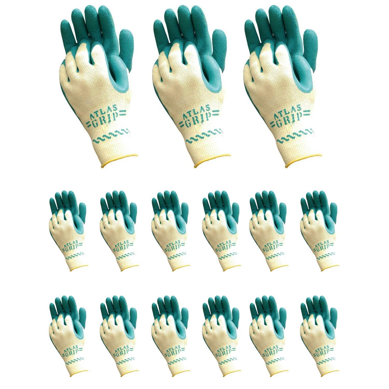Atlas 310 Grip Multi-Purpose X-Small XS Gardening Nylon Work Gloves, 72-Pairs by Atlas