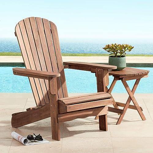 Cape Cod 28 3 4 Wide Natural Wood Adirondack Chair – Teal Island Designs