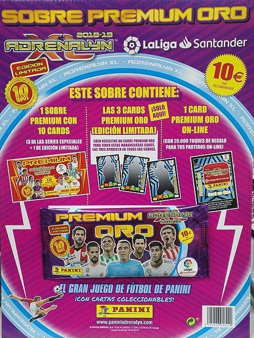 Adrenalyn XL Sobre Premium Oro 2018-19: Amazon.es: Juguetes y juegos
