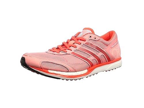super popular f4dde a9afd adidas Unisex Adults Adizero Takumi Sen 3 Running Shoes, Varios Colores  (Rosa (