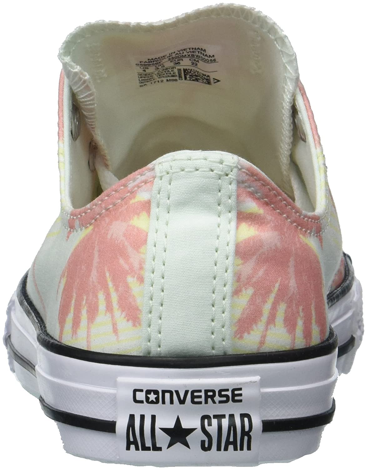 671143ad2991 Amazon.com   Converse Kids' Chuck Taylor All Star Palm Trees Low Top Sneaker    Sneakers