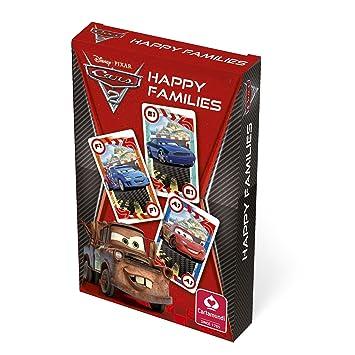 Amazon.com: Juego de cartas de Disney Cars 2 Happy Families ...
