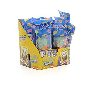 Pez Sponge Bob Square Pants Assortment !
