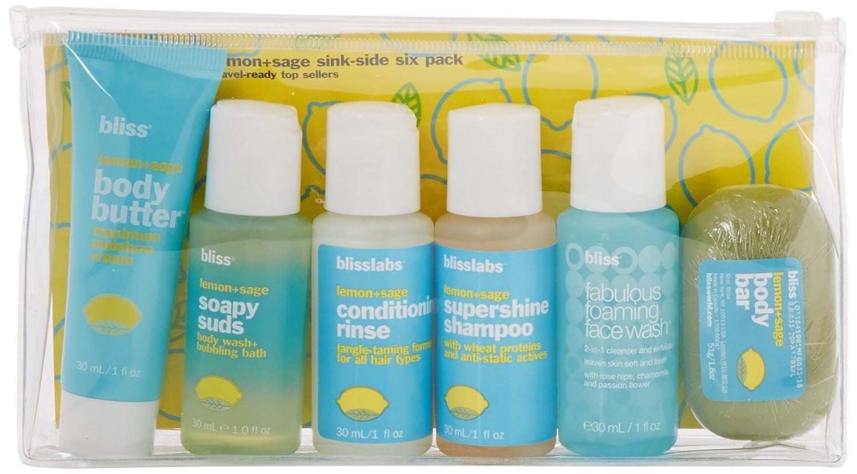 Amazon.com : bliss Lemon + Sage Sinkside Six-Pack : Gourmet Food ...