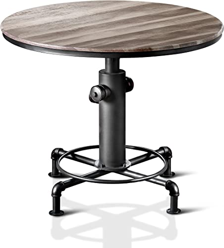 HOMES Inside Out Antique Black Grant Counter-Height Table