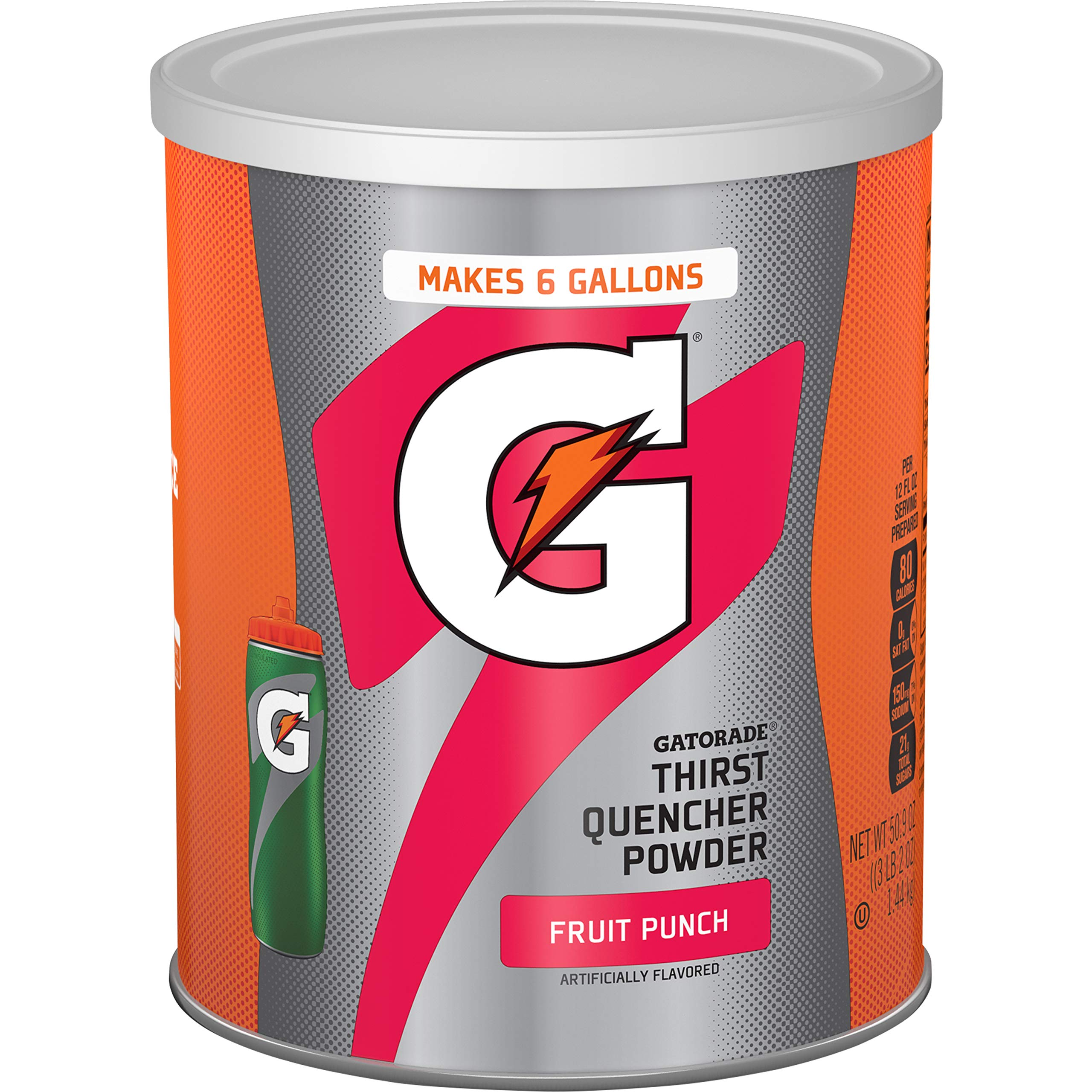Gatorade Thirst Quencher Drink, Fruit Punch, 51 Ounce Powder, Pack of 1