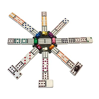 WE Games Mexican Train Dominoes: Toys & Games