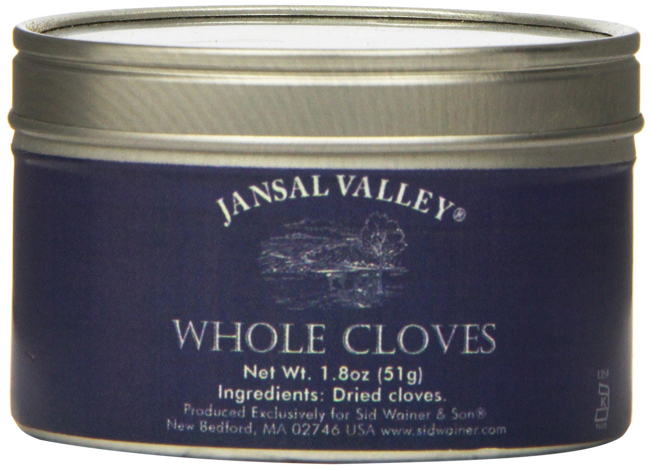 Jansal Valley Whole Cloves, 1.8 Ounce