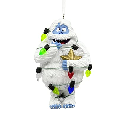 hallmark rudolph the red nosed reindeer bumble the abominable snow monster christmas ornament - Abominable Snowman Rudolph Christmas Decoration