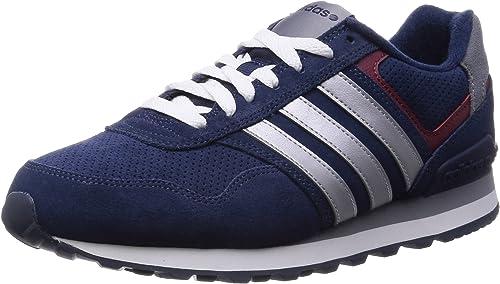 adidas , Herren Sneaker, Mehrfarbig Azul MarinoPlataRojo