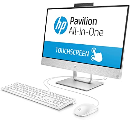 HP Pavilion 24-x037c Full HD IPS Touchscreen All-in-One PC - Intel i7-7700T  Quad Core 12GB DDR4, 1TB 7200RPM HDD, WebCam, WiFi, 2GB AMD Dedicated