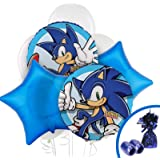 Sonic the Hedgehog Party Supplies - Balloon Bouquet