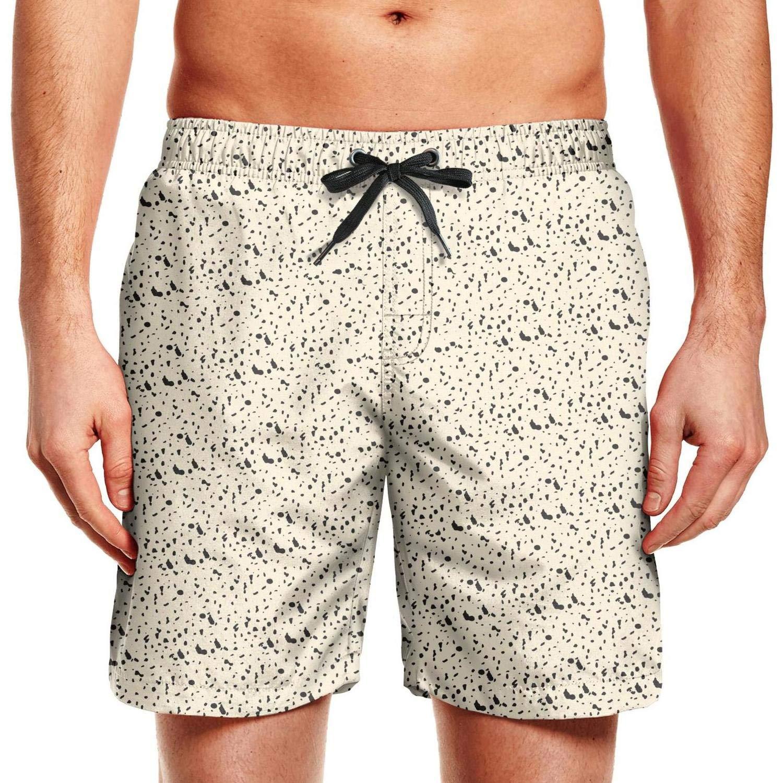 Designer Swimming Trunks Beach Wear Stretch Men QDFGDFSDX Leopard-Print