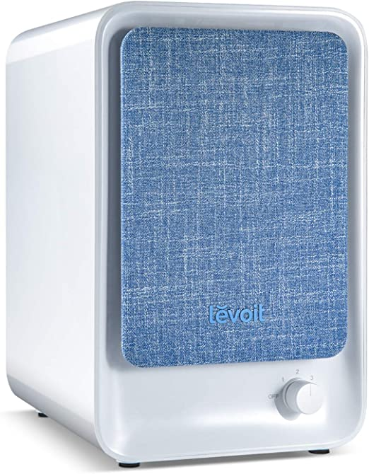 LEVOIT Air Purifier for Bedroom, HEPA Filter for Smoke in Home Office, LV-H126