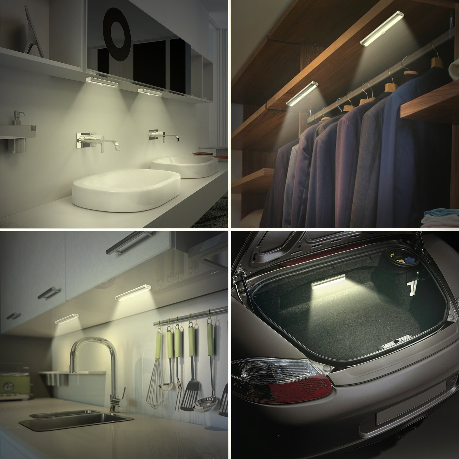 Oxyled Motion Sensor Lights Cordless Closet Light Under