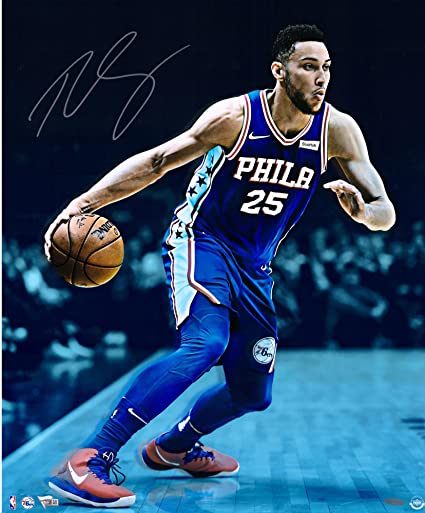 Ben Simmons Philadelphia 76ers Autographed 20 quot  x 24 quot  Vision  Photograph - Upper Deck - f3b6d4f19