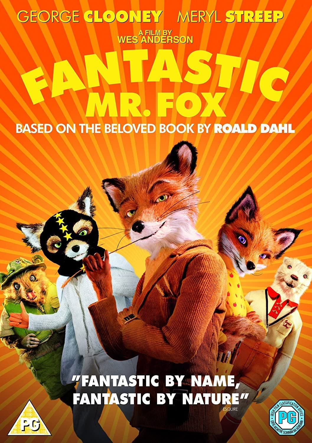 Image result for fantastic mr fox movie poster
