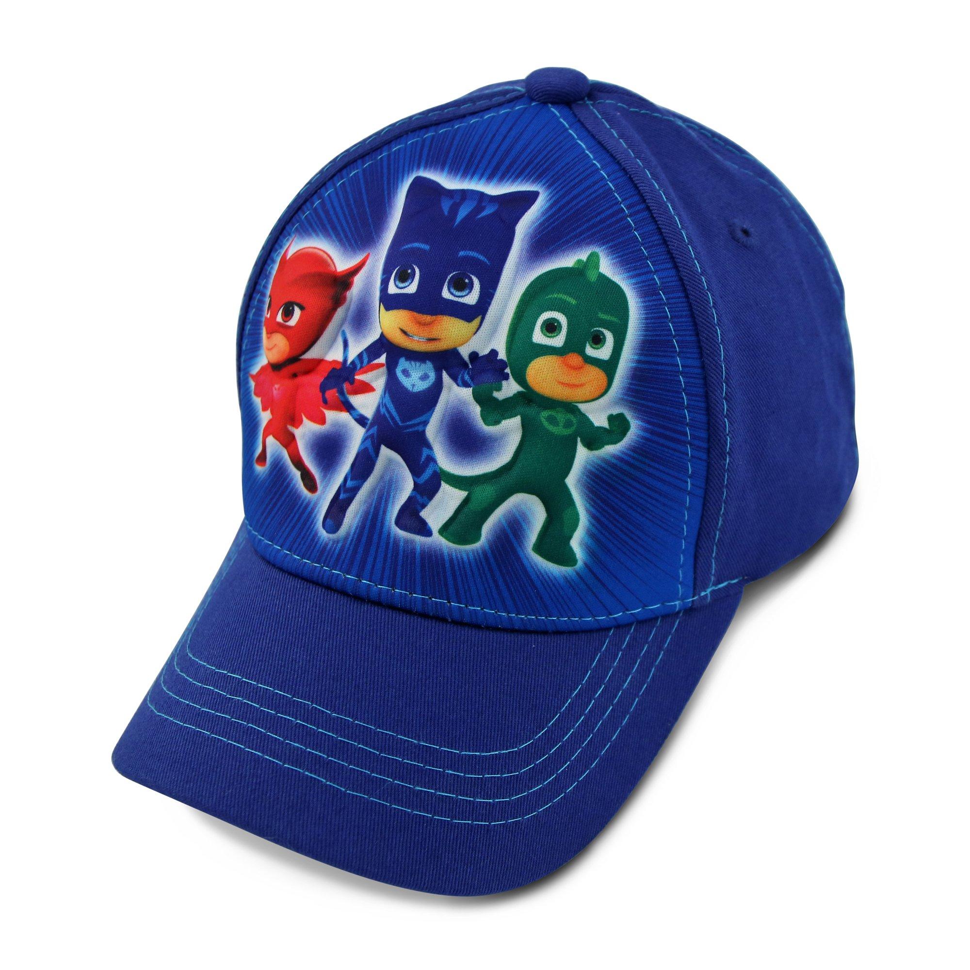 PJ Masks Little Boys Character 3D Pop Baseball Cap, Blue, Age 4-7