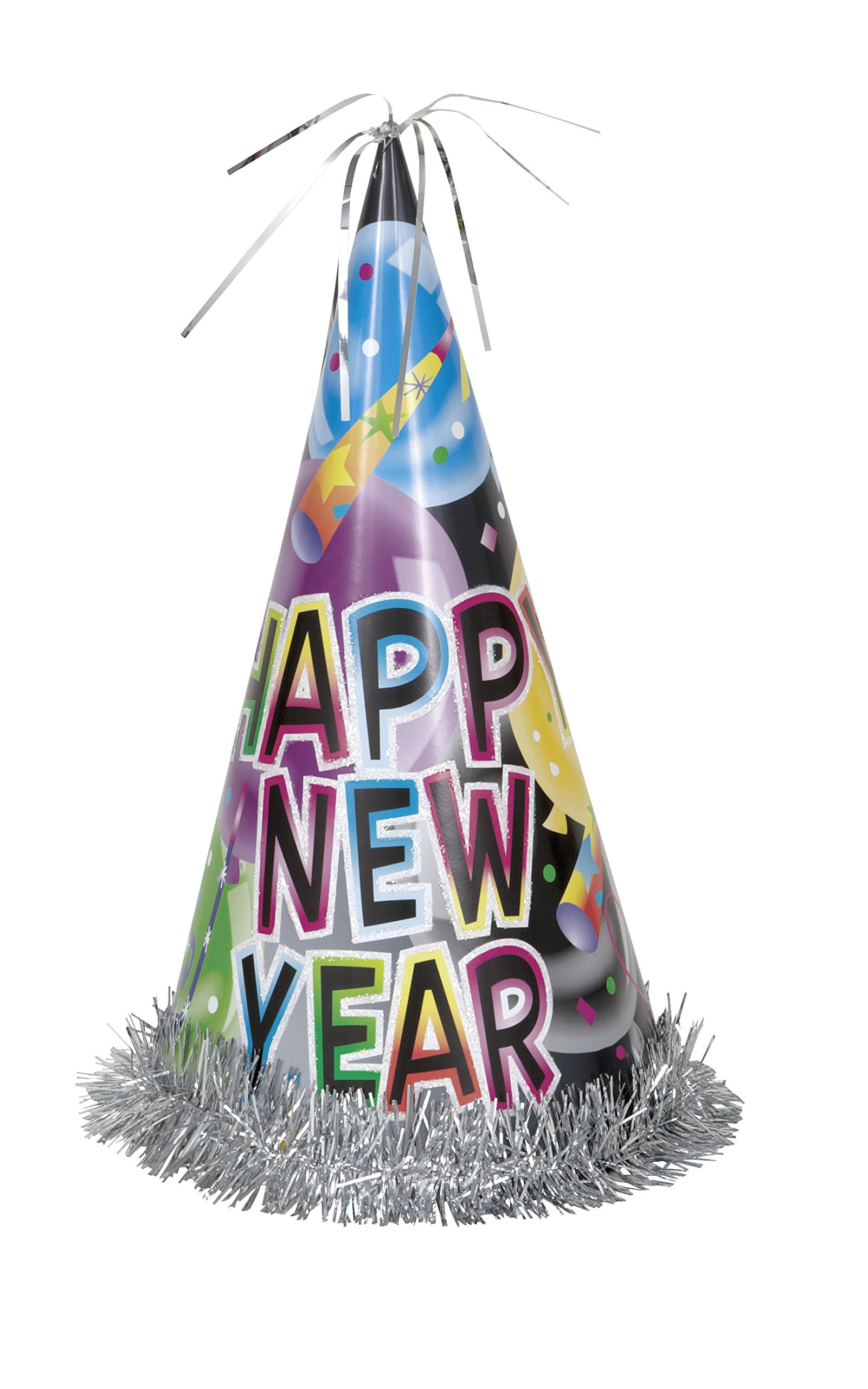 13'' Jumbo Balloon Happy New Years Party Hat by Unique