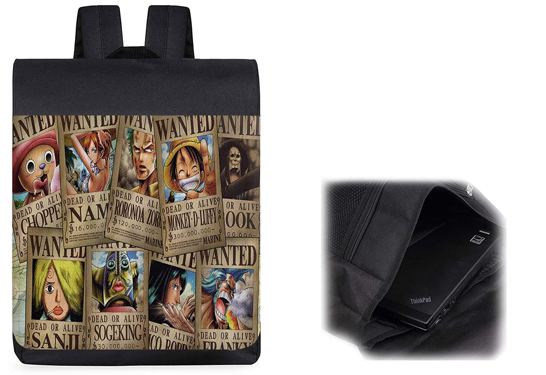 MOCHILA ONEPIECE SE BUSCA CARTEL PJ backpack rucksak: Amazon ...