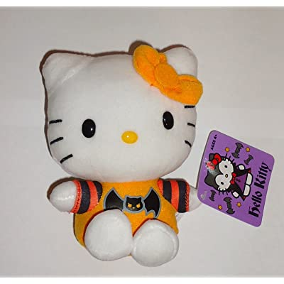 Halloween 2013 Hello Kitty 5 Inch Plush Bat Shirt by Jakks Pacific: Toys & Games