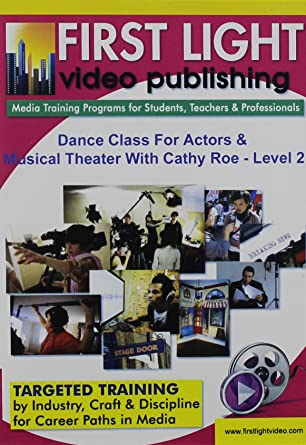 Dance Class for Actors & Musical Theater: Level 2 DVD Region