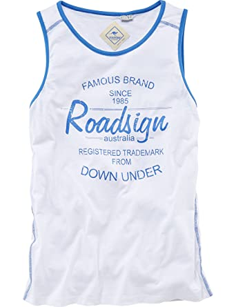 be22a2b55af6be ROADSIGN australia Tank Top Simple Life weiß M  Amazon.de  Bekleidung