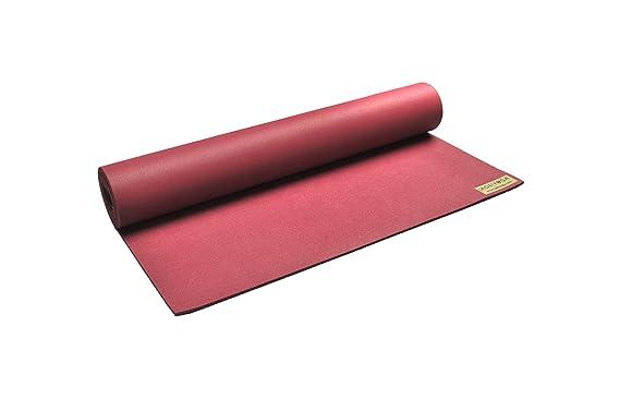 JadeYoga - Esterilla para yoga (5 mm x 173 cm), varios colores rosa rojo