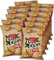 Ka-Pop! Popped Chips, Red & Green Sriracha (1oz, Pack of 12) - Allergen Friendly, Sorghum, Gluten-Free, Paleo Friendly, Non-