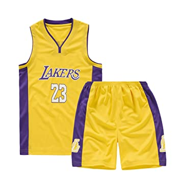 Los Angeles Lakers Kobe Bryant Nº 23 - Camiseta de Baloncesto para ...