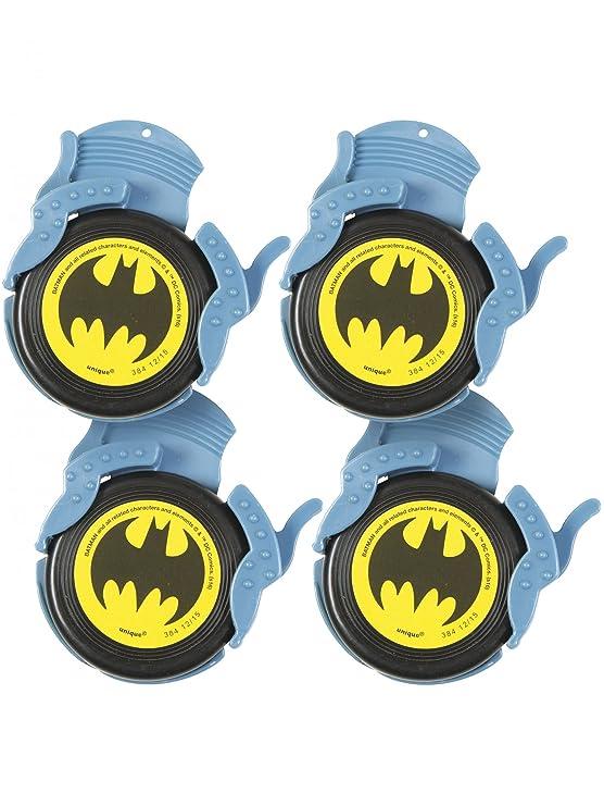 COOLMP - Juego de 6 minidiscos Batman - Talla única ...