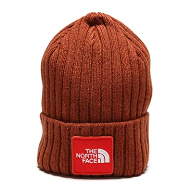 5c3406f12f0 Amazon.com  The North Face TNF Logo Boxed Cuffed Beanie - Brandy Brown   Shoes