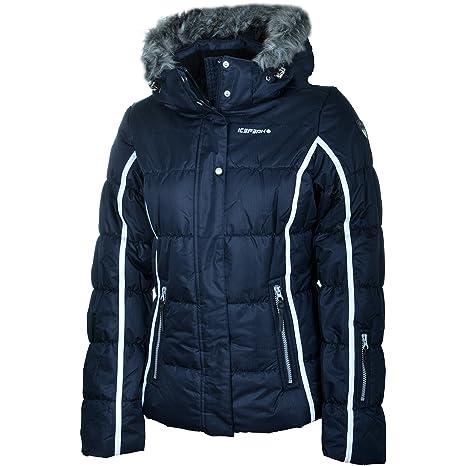 Blue Icepeak Ski Jacket Ladies' Winter – Dark Yasmin LqUSzpMGV