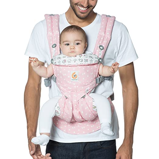 Amazon.com : Ergobaby Omni 360 All-in-One Ergonomic Baby Carrier, Newborn to Toddler, Special Edition Hello Kitty, Play Time : Baby