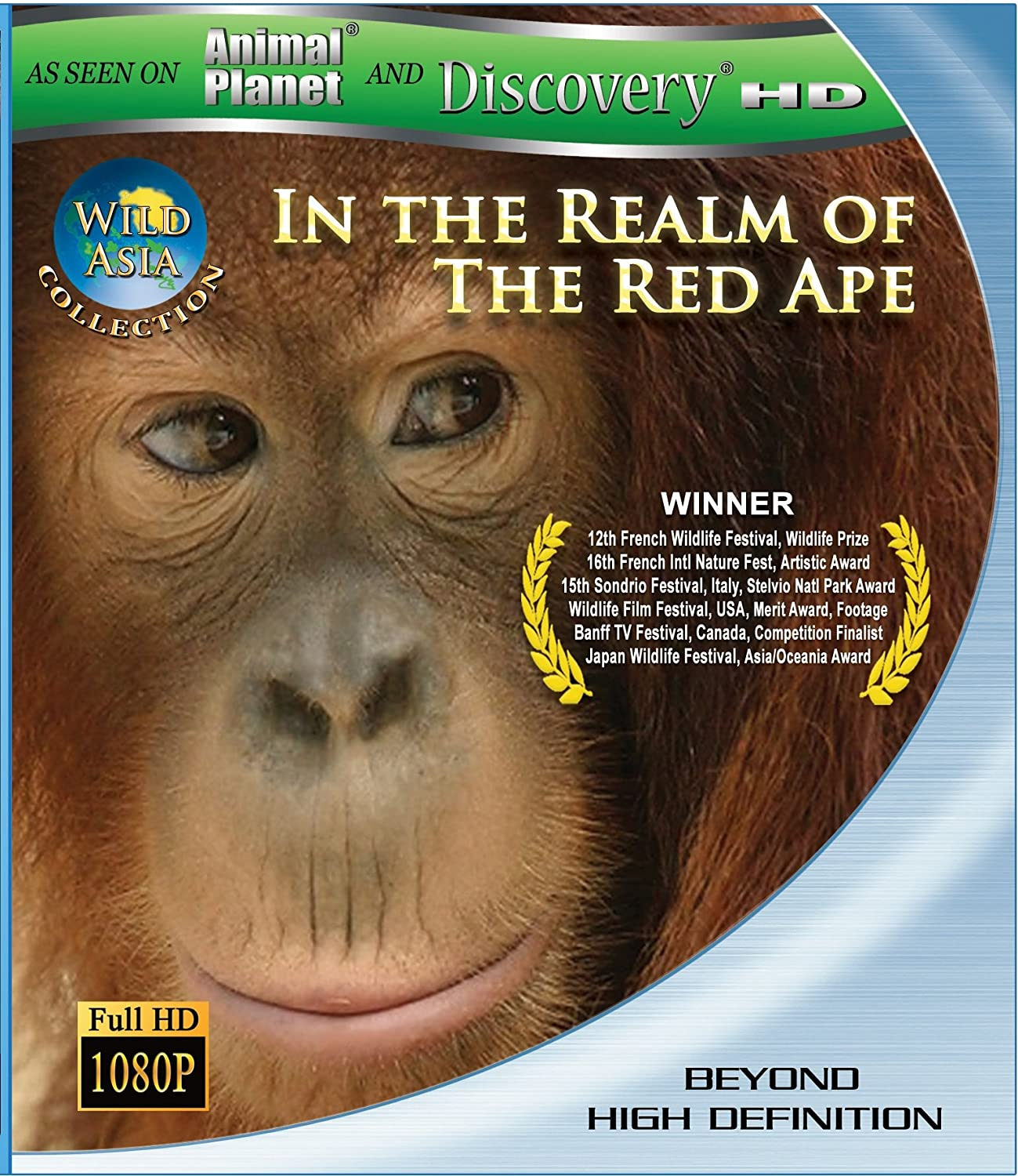 Amazon.com: Wild Asia 1: In the Realm Of The Red Ape [Blu-ray ...