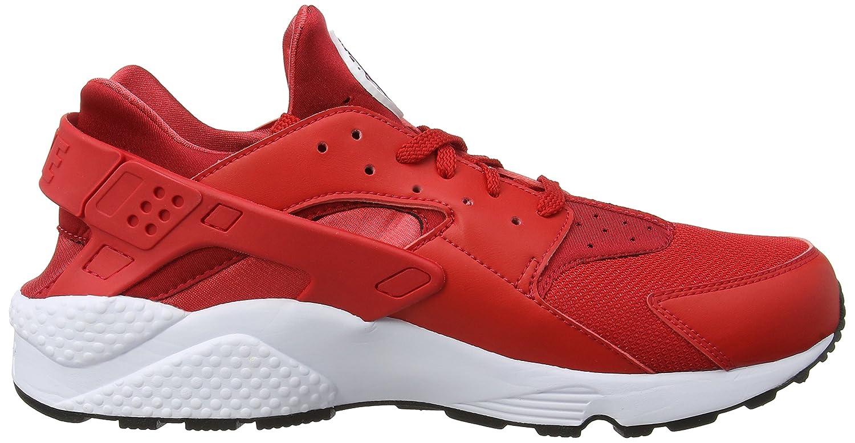 NIKE Men's Air Huarache Running Shoes B06X9BM766 10 D(M) US|University Red/True Berry