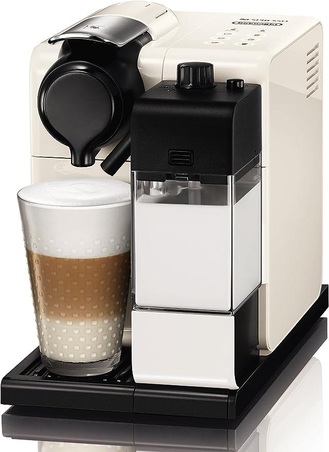Nespresso DeLonghi Lattissima Touch EN 550W-Cafetera de cápsulas, 19 bares, apagado automático, depósito de leche, táctil, color Glam White: 257.73: Amazon.es: Hogar