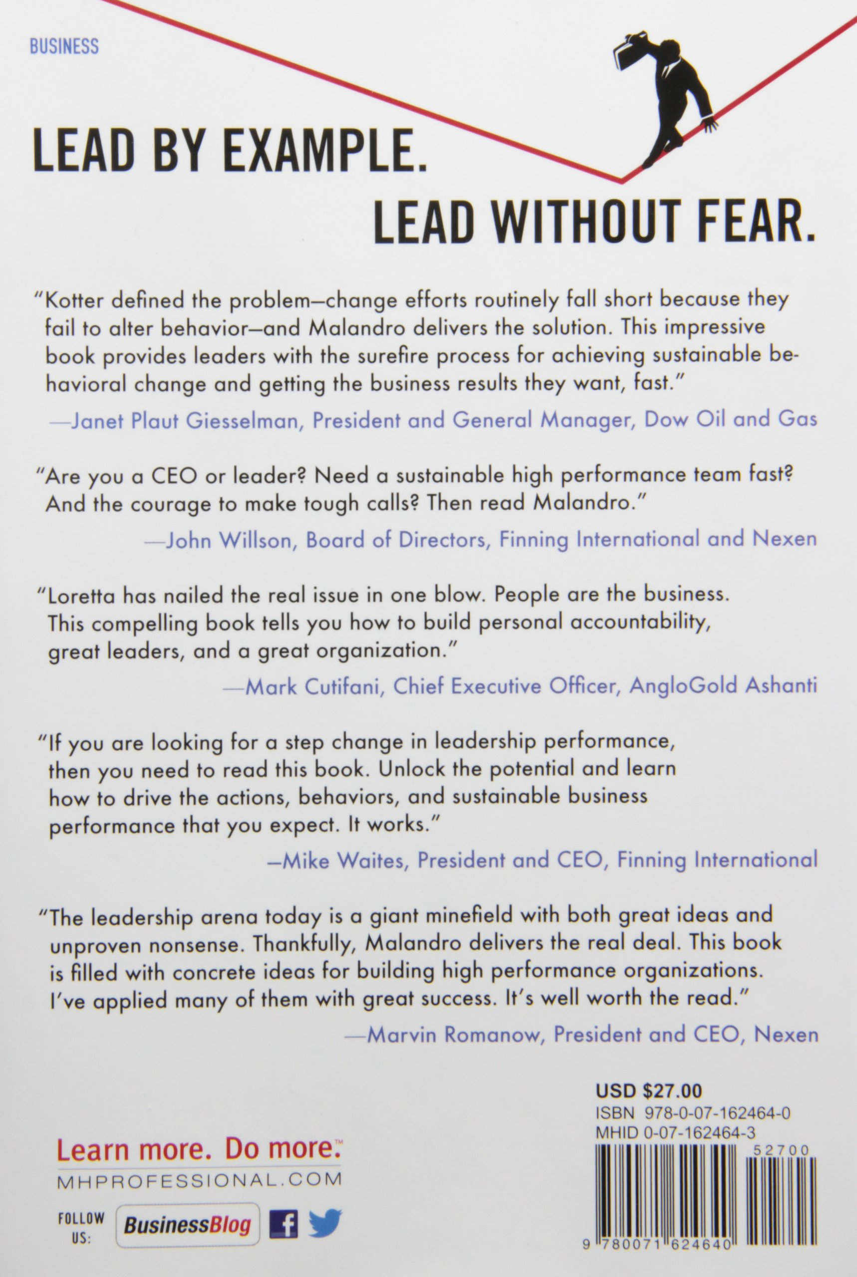 fearless leadership how to overcome behavioral blindspots and fearless leadership how to overcome behavioral blindspots and transform your organization business books loretta malandro 9780071624640 com