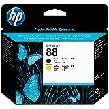 HP 88 Tête d'impression d'origine Noir Jaune